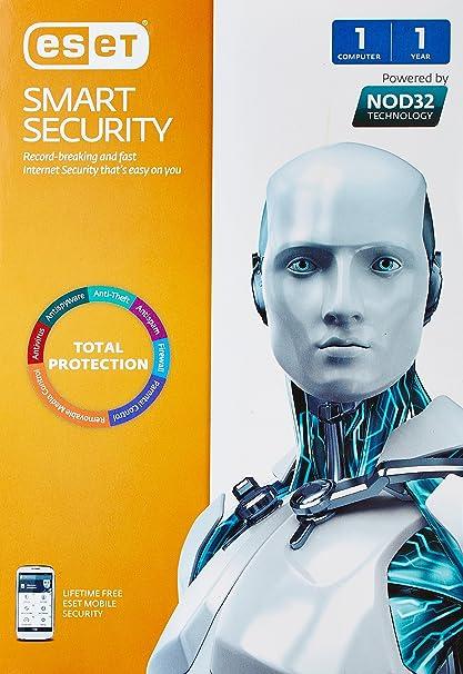 Eset Smart Security Version 8   1 PC, 1 Year  CD  Antivirus   Security
