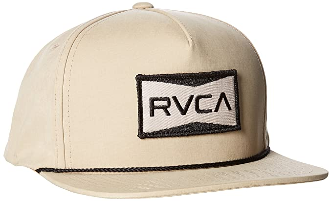Amazon.com  RVCA Men s Director Snapback Hat e78831d2f055