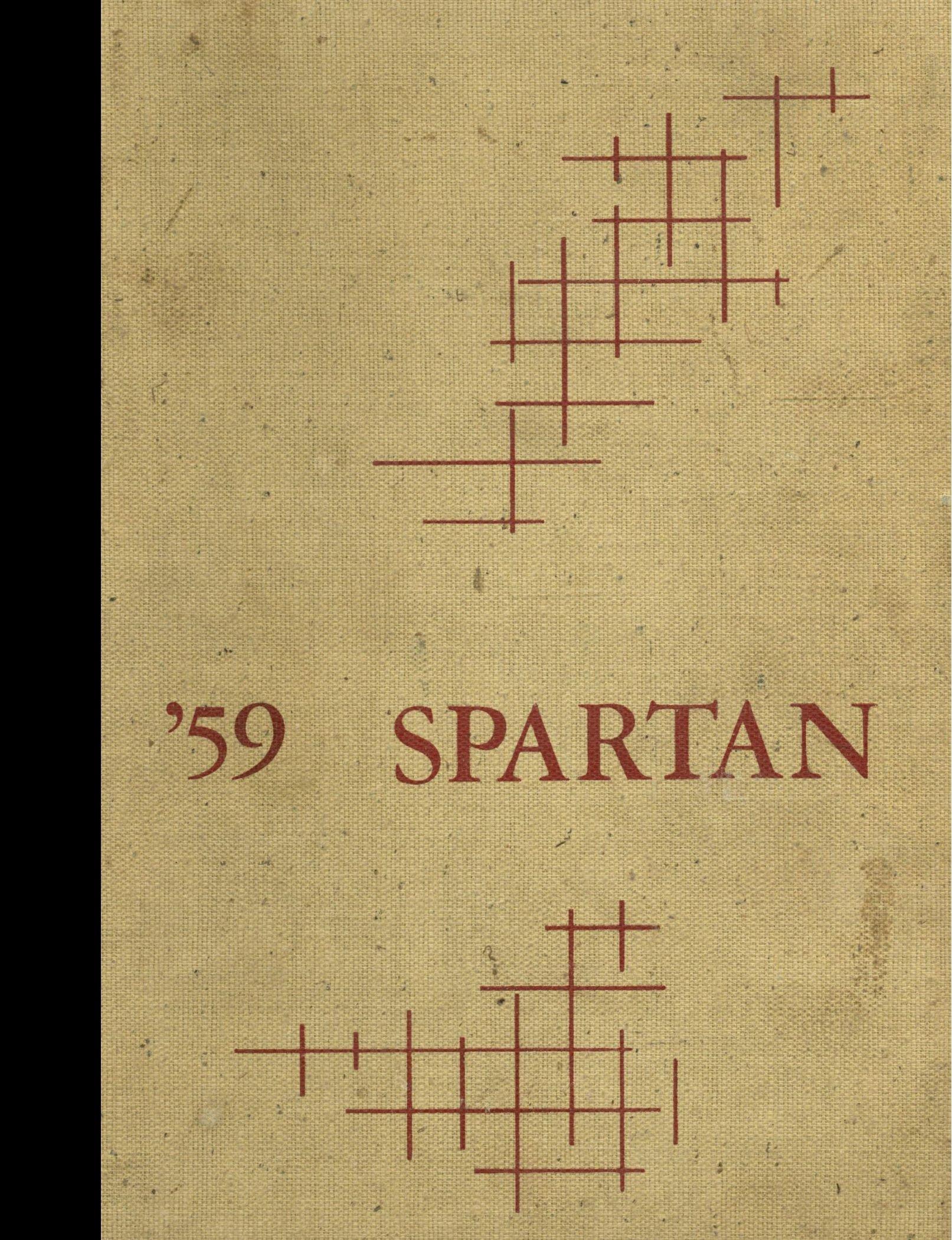 (Reprint) 1959 Yearbook: Sparta High School, Sparta, Wisconsin