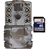 Moultrie A-35 14MP 60' HD Video Low Glow IR Game Trail Camera + 8GB SD Card