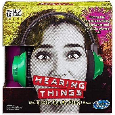 Hasbro Hearing Things Game: Hasbro: Toys & Games [5Bkhe0301420]