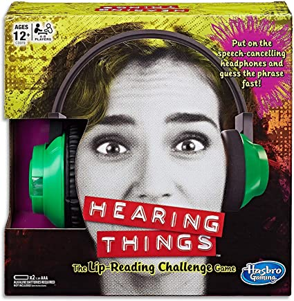 New Hearing Things game lip reading family board games fun playing party friends