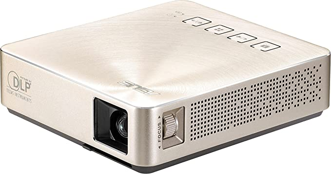 ASUS S1 - Proyector (200 lúmenes ANSI, DLP, WVGA (854x480), 1000:1 ...