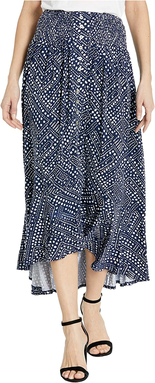 Tribal Women's Pull on Skirt W/Smocking Wb