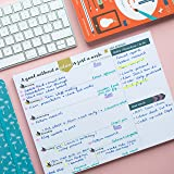Tabitha Wilde A4 Weekly Planner Calendar Notepad 55 Sheets