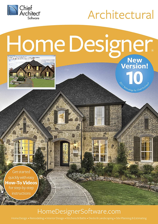 Amazoncom Chief Architect Home Designer Architectural 10