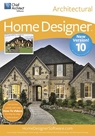 Amazoncom Chief Architect Home Designer Architectural 10