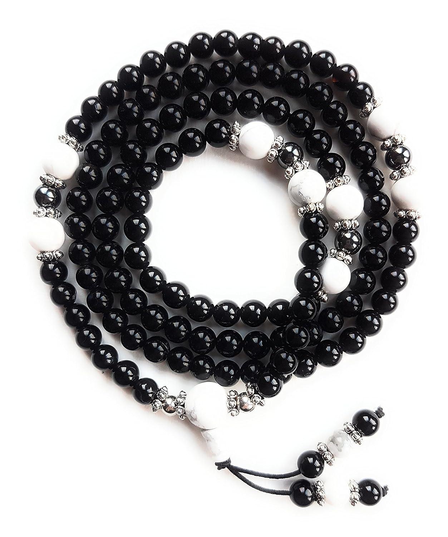 Mala Necklace / Bracelet – Buddhist Prayer Beads - 108 Beads - Gemstones - Yoga Jewelry