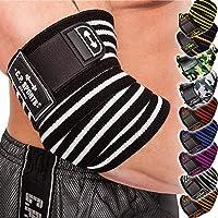 C.P. Sports Bankdrukken, professionele elleboogbandages, 1 paar, fitness, sportbandage, elleboogbandage, bandages…