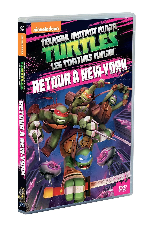 Les Tortues Ninja - Vol. 10 : Retour à New York Francia DVD ...