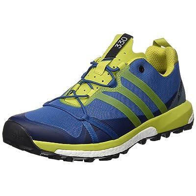 adidas Terrex Agravic, Chaussures de Randonnée Homme, Bleu (Blu Azubas/Limuni/Vertac), 40 EU