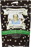 Newmans Own Organic Premium Dog Treats Turkey and Sweet Potato -- 10 oz