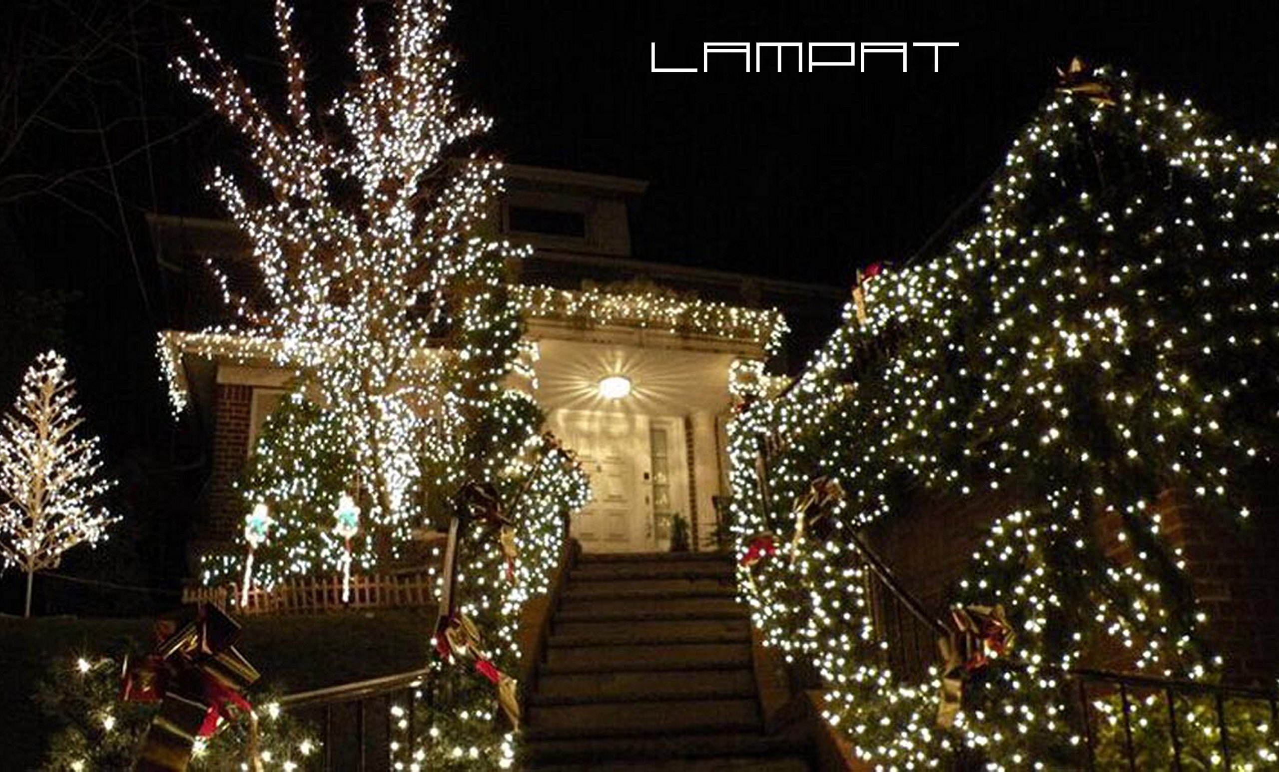 Solar string lights lampat 300 led holiday string lighting outdoor product description aloadofball Image collections
