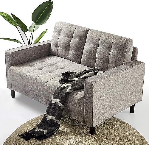 Deal of the week: ZINUS Benton Loveseat Sofa / Grid Tufted Cushions / Easy