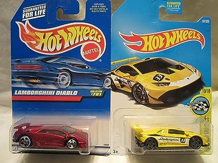 Amazon Com Hot Wheels Lamborghini Diablo 781 Lamborghini Huracan