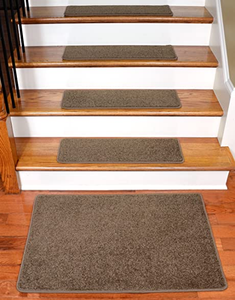 Charmant Dean Flooring Company Rich Earth Plush Carpet Stair Tread Rugs 27u0026quot; X  9u0026quot; (