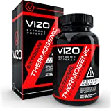 Vizo Thermogenic Fat Burner, Diet Pill for Fast Weight Loss That Works, 60 capsules