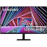 SAMSUNG S70A Series 32-Inch 4K UHD (3840x2160) Computer Monitor, HDMI, Display Port, HDR10 (1 Billion Colors), 3-Sided Border