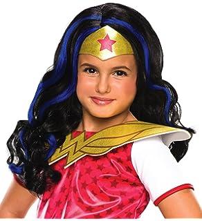 rubieu0027s dc superhero girls wonder woman wig