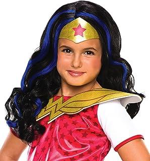 Rubieu0027s DC Superhero Girls Wonder Woman Wig  sc 1 st  Amazon.com & Amazon.com: DC Super Heroes Childu0027s Wonder Woman Costume Large ...