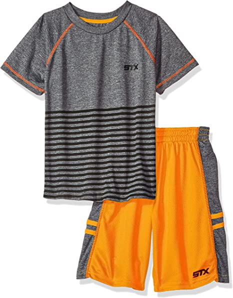 Tank and Mesh Short Set Polo Assn U.S Boys T-Shirt