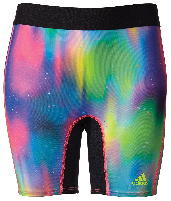 adidas Girls' Destiny Printed Softball Sliding Shorts