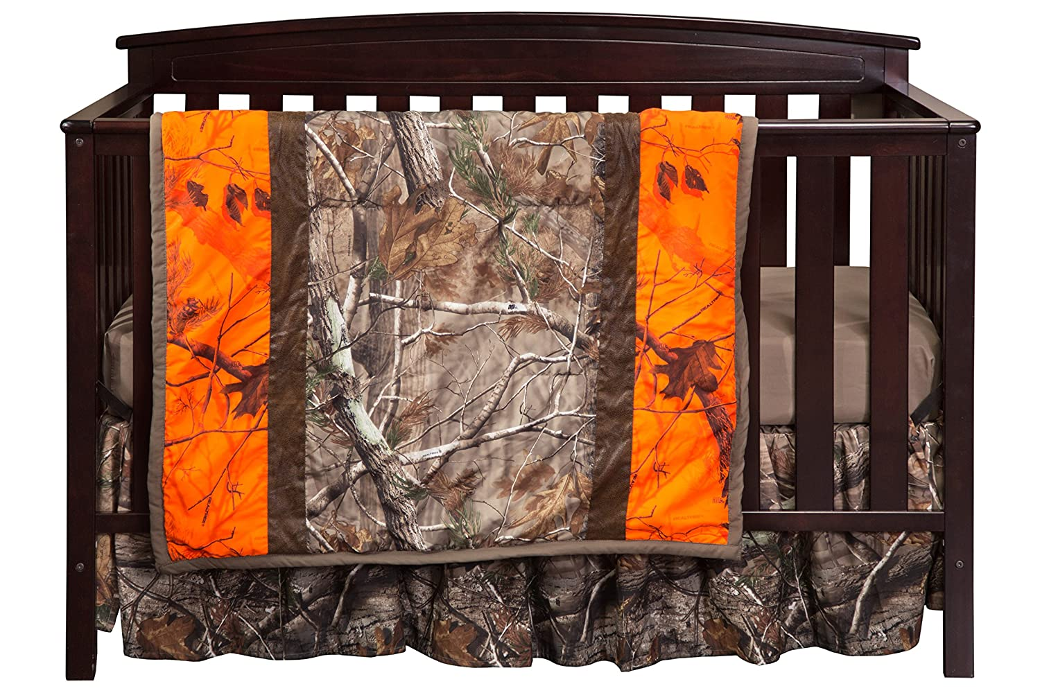 Carstens Camo 3-Piece Crib Sheet Set, Mossy Oak RT620