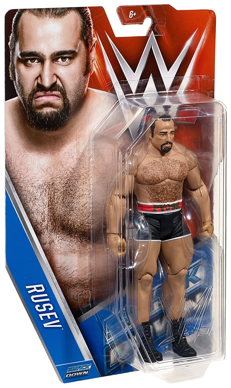 WWE Basic Rusev Figure