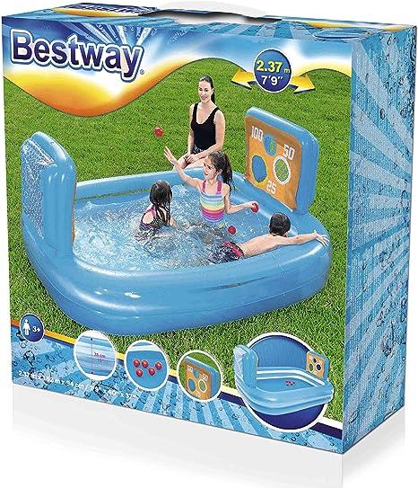 Bestway 54170 - Piscina Hinchable Infantil con 2 Porterías Skill ...