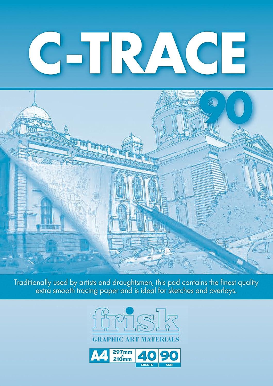 Frisk C-Trace - Carta per schizzi, 90g/m², Trasparente, A2 Artcoe 23118232