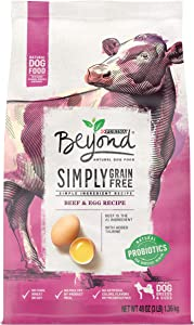 Purina Beyond Grain Free, Natural, Beef & Egg Adult Dry Dog Food