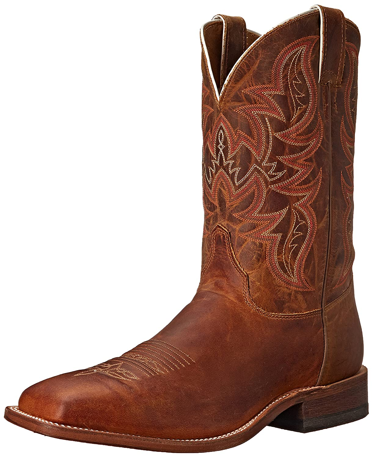 Justin Boots メンズ B00QVBYPH6 8.5 D(M) US Distressed Cognac Distressed Cognac 8.5 D(M) US