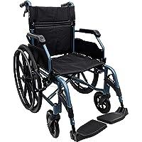 HappyWheels Hero Lightweight Wheelchair (Teal),
