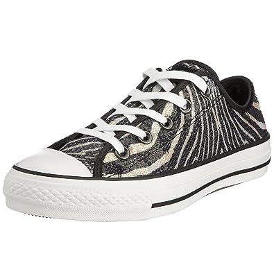 b1785b6c27 Amazon.com | Converse Chuck Taylor Mens Zebra Design Sequined Ox 13 (D) US  Men's | Fashion Sneakers