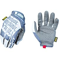 Mechanix Wear MSV-00-008 - Specialty Vent Work Gloves (Small, Grey/White)