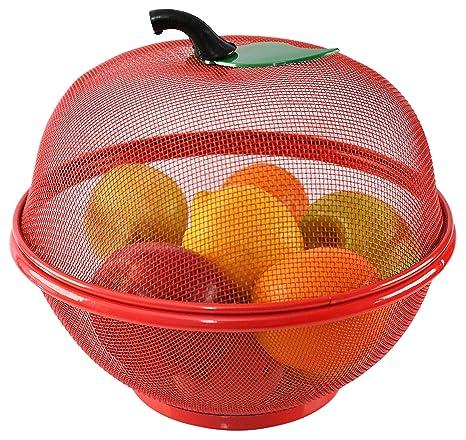 Decorative Kitchen Decor and Storage HOME-X Pear-Shaped Fruit Basket Fun Fruit Bowl