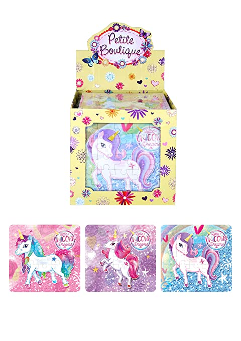 HORSE PONY JIGSAW PUZZLES GIRLS BIRTHDAY PARTY LOOT FAVOUR BAG FILLERS