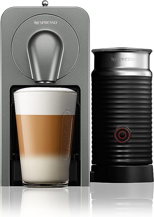 Krups yy5101fd Nespresso prodigio y leche Espresso automática titanio: Amazon.es: Hogar