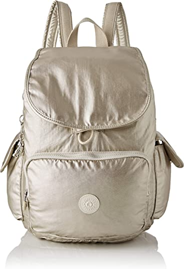 Kipling - City Pack, Mochilas Mujer, Dorado (Cloud Metal ...