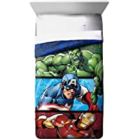 Jay Franco Avengers Publish Full Comforter Features Iron Man, Hulk, Captain America (Official Marvel Product)