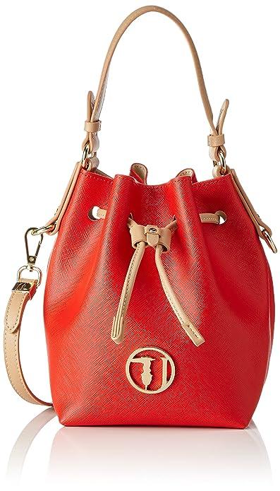 Secchiello Donna Multicolore Borsa A redwhite Trussardi 75bp0553 F6W8Bqf