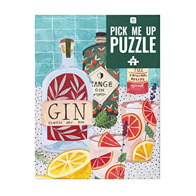 Talking Tables Jigsaw Puzzles for Adults Party Games Gin | 500Piece: Toys & Games