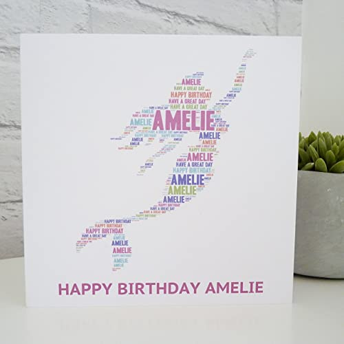 Personalised Mermaid Birthday Card Amazon Handmade