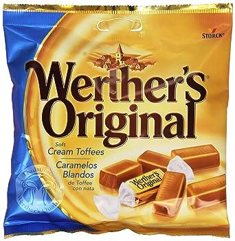 WertherS Original - Caramelos blanos de toffee con nata - 115 g