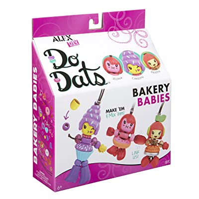 Alex DIY Do Dats Bakery Babies Kids Art and Craft Activity: Toys & Games