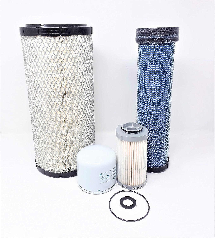 06 Filters Filter Kit SC CAT 262D 279D 289D Skid Steer w//C3.3B Eng Maint