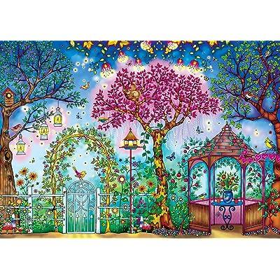 Buffalo Games - Johanna Basford's Secret Garden - Songbird Garden - 500 Piece Jigsaw Puzzle: Toys & Games