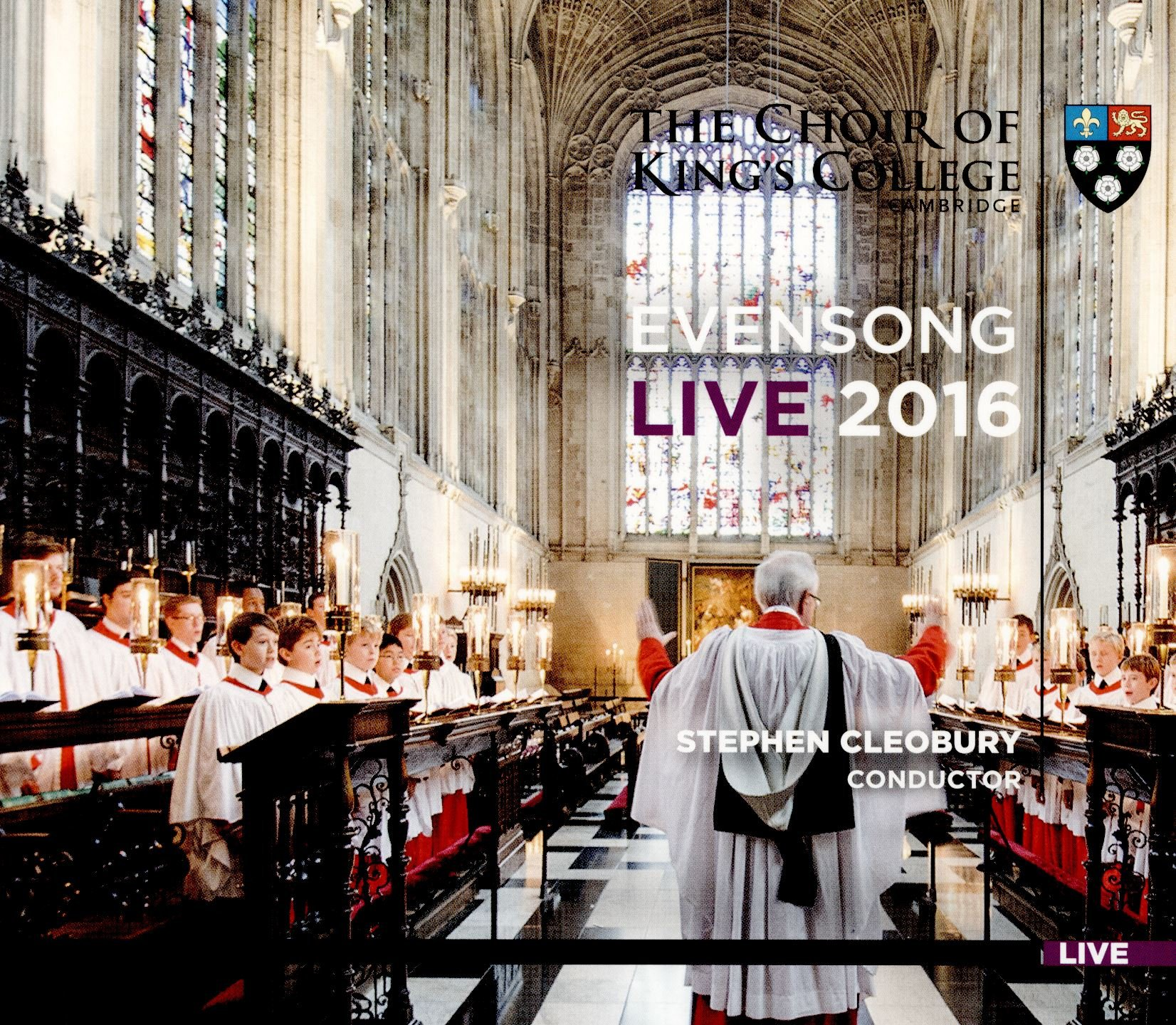 Evensong Live 2016 by KING'S COLLEGE