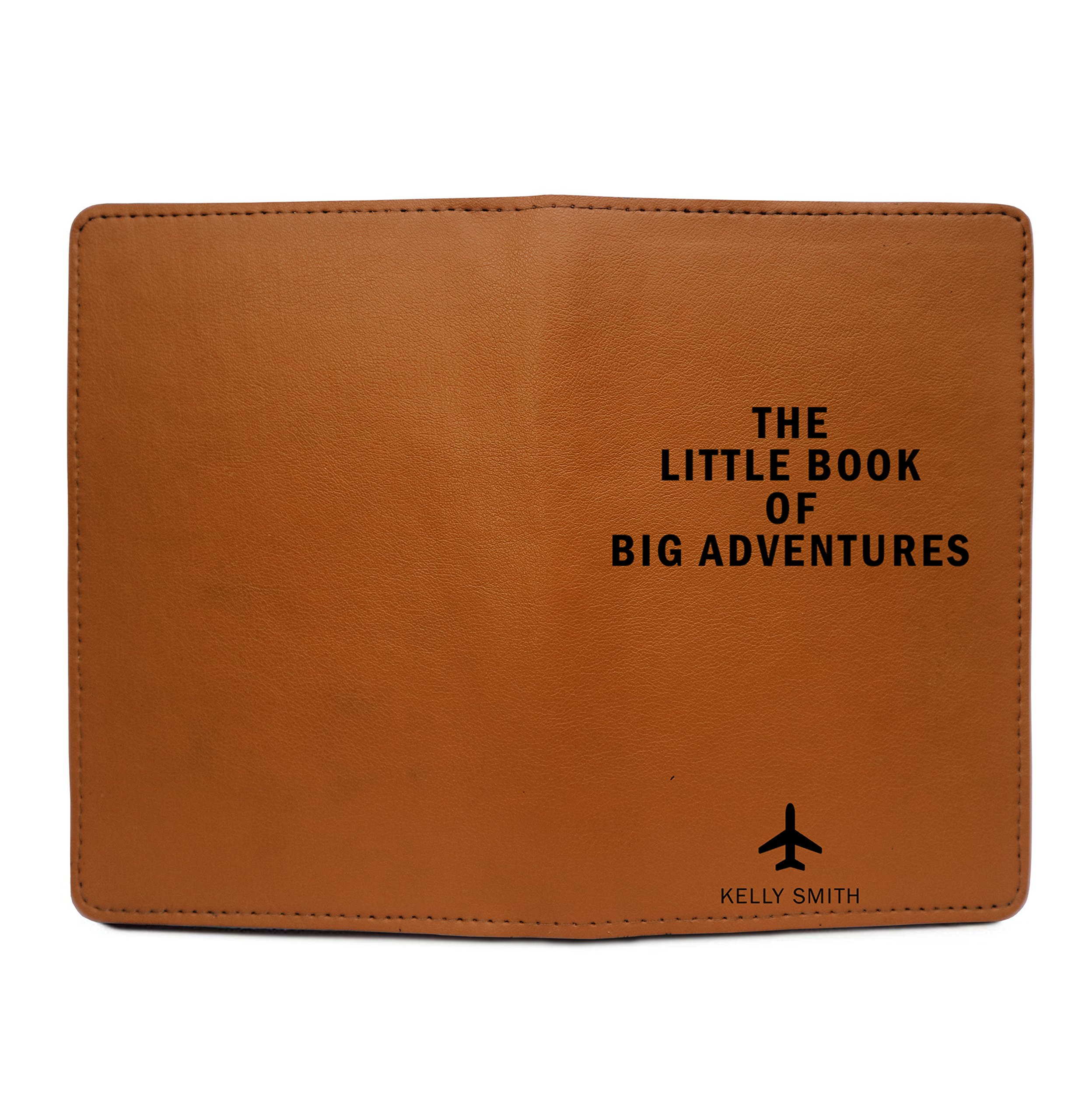 Personalized Leather Passport Cover Wallet - The Little Book Of Big Adventures by With Love From Julie (Image #4)