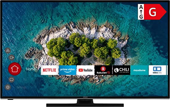 Hitachi U55k6100 Smart Tv 55 Zoll 139 Cm I Fernseher 4k Ultra Hd Hdr10 Dolby Vision Hdr Triple Tuner Alexa Bluetooth Hd I Wlan Streaming Prime Video Netflix Youtube Uvm Heimkino Tv